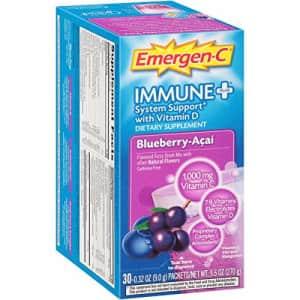 Emergen-C - Immune+ Formula 0.3 Oz Blueberry Acai 30/Pack for $56