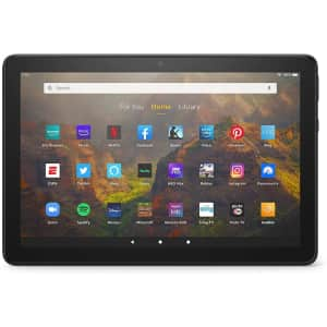 """Amazon Fire HD 10 10.1"""" 32GB Tablet for $100"""