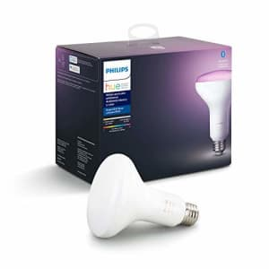Philips Hue 548503 Smart Light Bulb, 1, White and Color Ambiance for $50