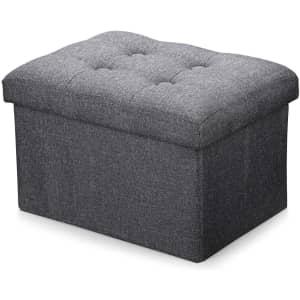 Alasdo Foldable Storage Ottoman for $16