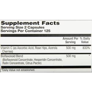 Solaray C Super Bio-Plex Supplement, 250 Count for $20