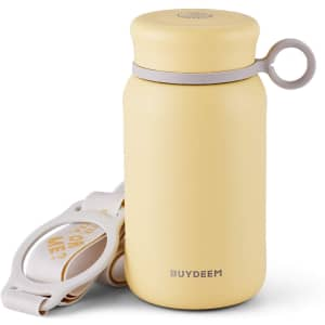 Buydeem 10-oz. Stainless Steel Mini Thermos for $11 for Prime members