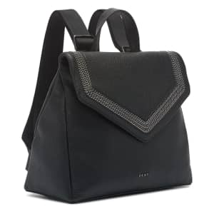 DKNY Ziggy Convertible Leather Backpack for $69