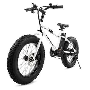 Swagtron EB-6 Bandit E-Bike 350W Motor, Power Assist, 4 Tires, 20 Wheels, Removable 36V Lithium Ion for $857