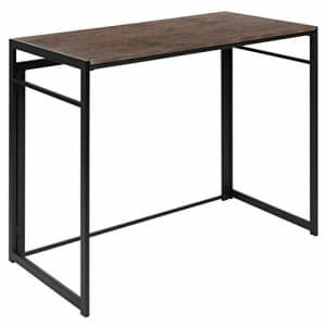 """Flash Furniture Rustic Home Office Folding Computer Desk - 40"""" for $71"""