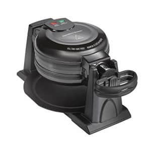 Hamilton Beach 26201 Belgian Waffle Maker with Removable Non-Stick Plates, Double Flip, Black for $107