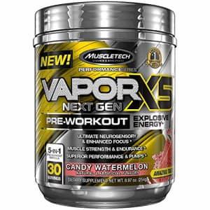 MuscleTech Vapor X5 Next Gen Pre Workout Powder for $22