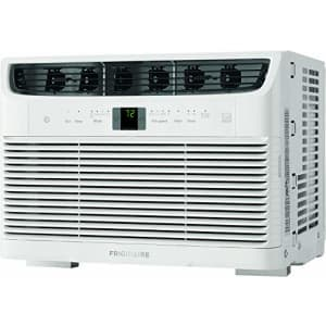 Frigidaire, White Energy Star 5,000 BTU 115V Window-Mounted Mini-Compact Air Conditioner with for $210