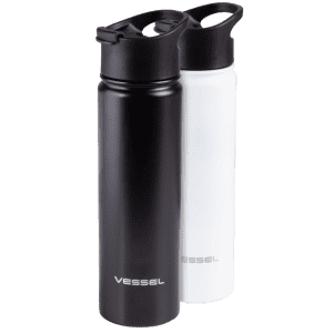 Vessel 22-oz. Double-Wall Stainless Steel Bottle 2-Pack for $19
