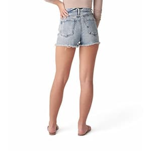 Silver Jeans Co. Women's Highly Desirable High Rise Jean Shorts, Indigo, 34W for $59