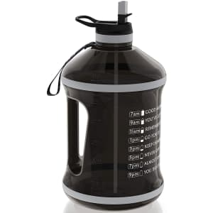 Fretree 32-Oz. Water Bottle with Straw Lid for $7