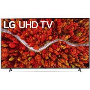 "LG 80 Series 75UP8070PUA 75"" 4K HDR LED UHD Smart TV for $847"