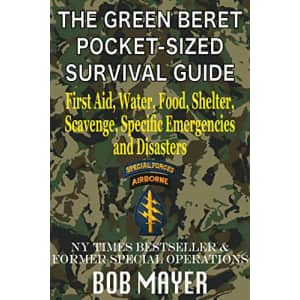 The Green Beret Pocket-Sized Survival Guide Kindle eBook: Free