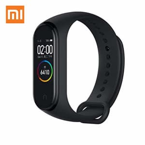 Xiaomi Mi Band 4 Fitness Tracker, Newest 0.95 Color AMOLED Display Bluetooth 5.0 Smart Bracelet for $27