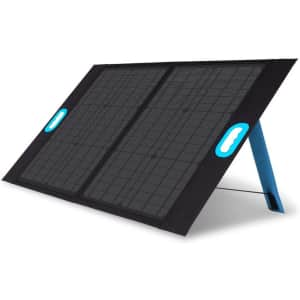 Renogy 50W Portable Solar Panel Charger for $90