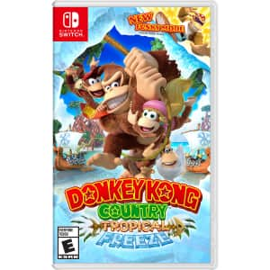 Donkey Kong Country: Tropical Freeze for Nintendo Switch for $40