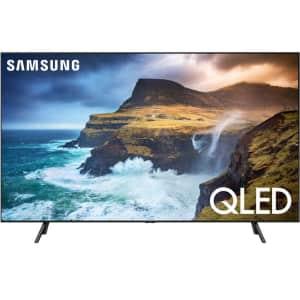 """Samsung 75"""" 4K HDR QLED UHD Smart TV for $1,680"""
