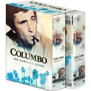 Columbo: The Complete Series on DVD for $45