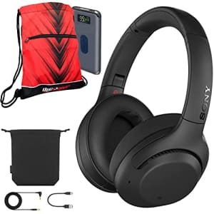 Sony WH-XB900N Extra BASS Wireless Noise Canceling Headphones + Deco Gear Bag Bundle for $148