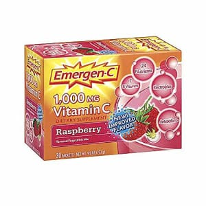 Alacer Emergen-C 1000 MG Vitamin C - Raspberry for $10