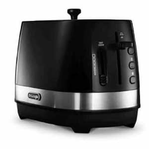 Delonghi ACTIVE SERIES Pop-Up Toaster CTLA2003J-BK (Intense Black)Japan Domestic genuine for $107