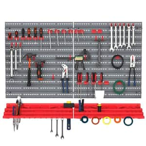 Durhand 54-Piece Pegboard and Shelf Tool Organzier for $39