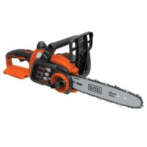 "Black + Decker 20V MAX 10"" Chainsaw for $98"