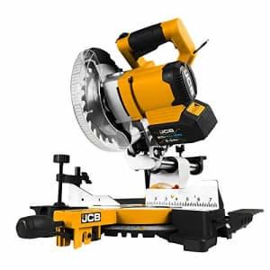 JCB Tools 20V Cordless Brushless Miter Saw for $159