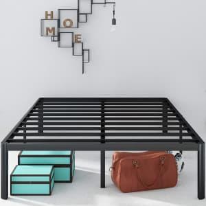 """Zinus Van 16"""" Metal Platform Queen Bed Frame for $145"""