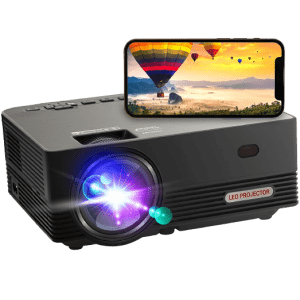 Oseven WiFi Portable Projector for $170