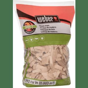 Weber Wood Chips 2-lb. Bag for $4