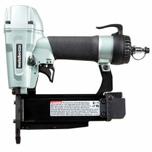 """Metabo HPT Pin Nailer, 23 Gauge, 1/2"""" To 2"""" Pin Nails, Built-In Silencer, 5 Year Warranty (NP50A) for $159"""