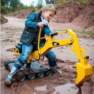 Rolly Toys CAT Metal Digger Ride-On Toy for $210 for members