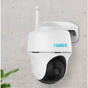 Reolink Argus PT 1080p Wireless Outdoor Security Camera for $105