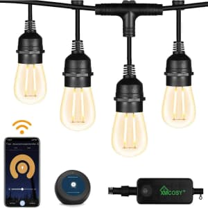 Xmcosy+ 49-Foot LED String Lights for $60