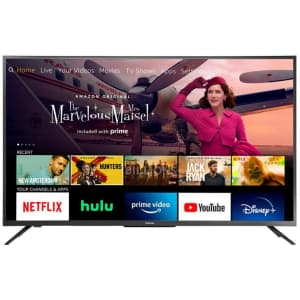 """Toshiba 50"""" 4K HDR LED UHD Smart Fire TV (2020) for $310 w/ Prime"""