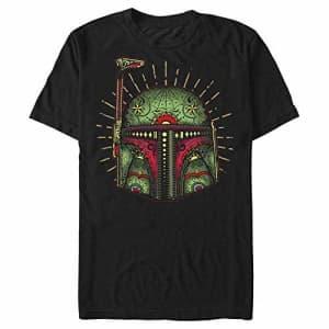 STAR WARS Men's T-Shirt, Black, Large for $20