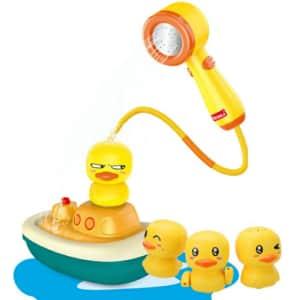 Uwantme Duck Spray Bath Toy for $21
