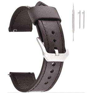Eache Genuine Leather Watch Band for $6