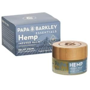 Papa & Barkley CBD Hemp Infused Balm 180mg 0.5-oz. Jar for $12