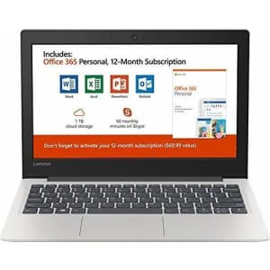 """New Lenovo 130S 11.6"""" HD Laptop, Intel Celeron (2 core) N4000 1.1GHz up to 2.6GHz, 4GB Memory, 64GB for $439"""