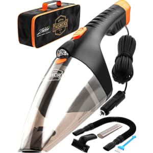 ThisWorx Portable Car Wet / Dry Vacuum Cleaner for $28