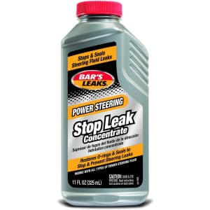 Bar's Leaks 11-oz. Power Steering Stop Leak Concentrate for $4