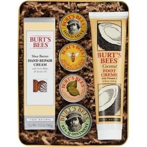 Burt's Bees Classics 6-Piece Gift Set for $24