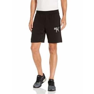 """PUMA Men's Athletics 8"""" Shorts, Black, L for $32"""