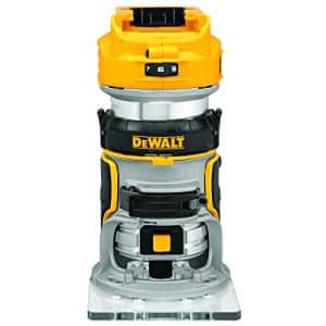 DEWALT 20V Max XR Cordless Router, Brushless, Tool Only (DCW600B) for $176