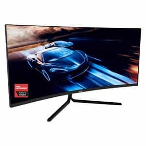 VIOTEK GNV34DBE 34-Inch Curved Gaming Monitor | 144Hz UWQHD 4ms | 2X HDMI 2.0, 2X DisplayPort 1.4, for $400