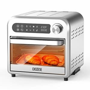 KBS 8-In-1 Compact Stainless Steel Digital Air Fryer Toaster Oven, Dehydrator/Bake/Broil/Roast for $120