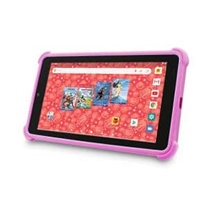 """Venturer Small Wonder 7"""" Android Kids Tablet with Disney Books, Bumper Case & Google Play, 16GB for $82"""
