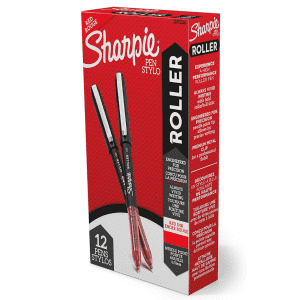 Sharpie Needle Point 0.5mm Precision Rollerball Pen for $15